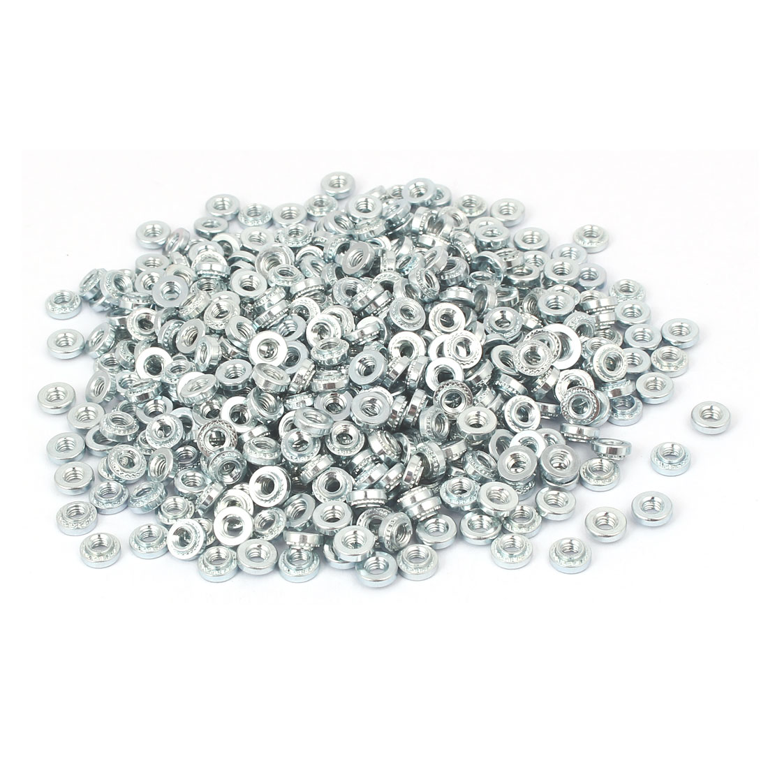 S-M3-1 Carbon Steel Self Clinching Rivet Nut Fastener 500pcs for 1.0mm Thin Plates