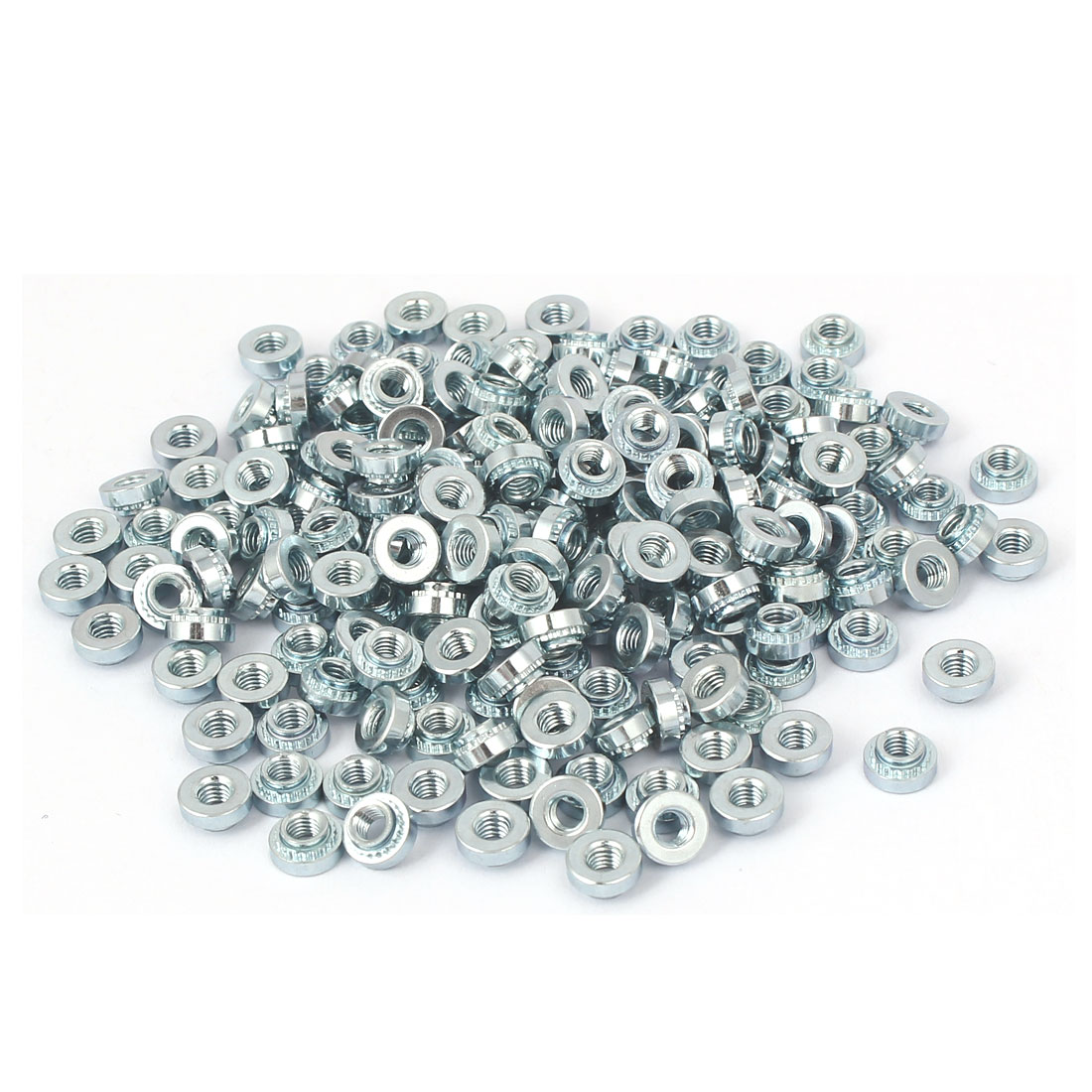 S-M3-2 Carbon Steel Self Clinching Rivet Nut Fastener 200pcs for 1.4mm Thin Plates