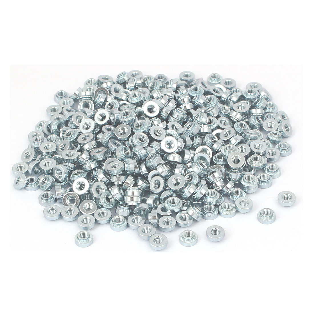 S-M3-2 Carbon Steel Self Clinching Rivet Nut Fastener 500pcs for 1.4mm Thin Plates