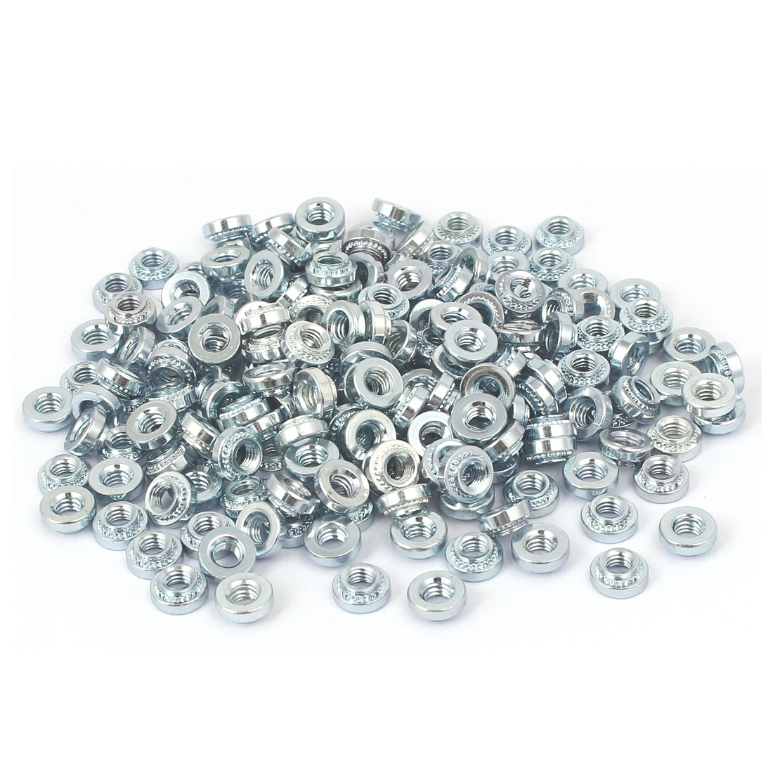 S-M4-2 Carbon Steel Self Clinching Rivet Nut Fastener 200pcs for 1.4mm Thin Plates