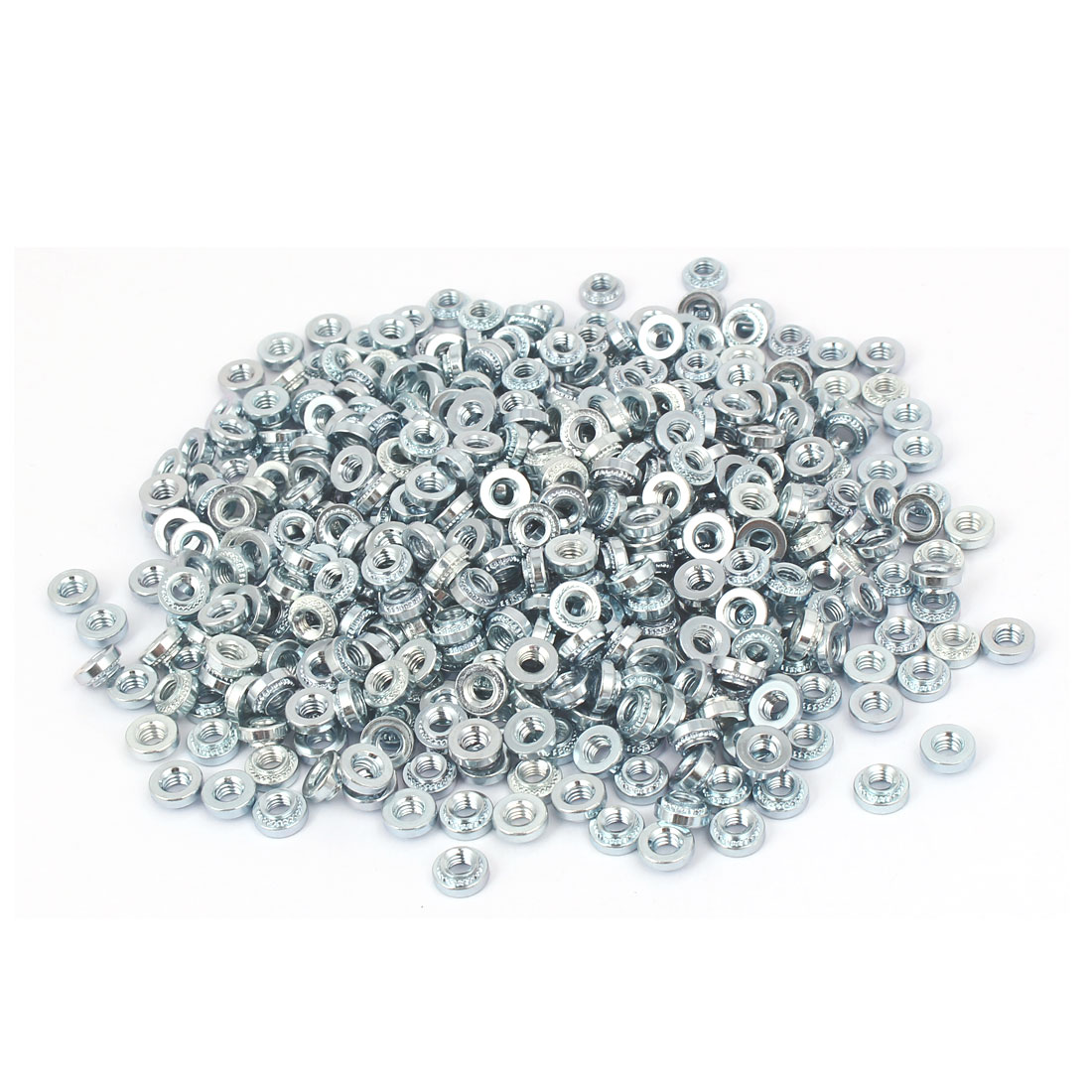 S-M4-2 Carbon Steel Self Clinching Rivet Nut Fastener 500pcs for 1.4mm Thin Plates