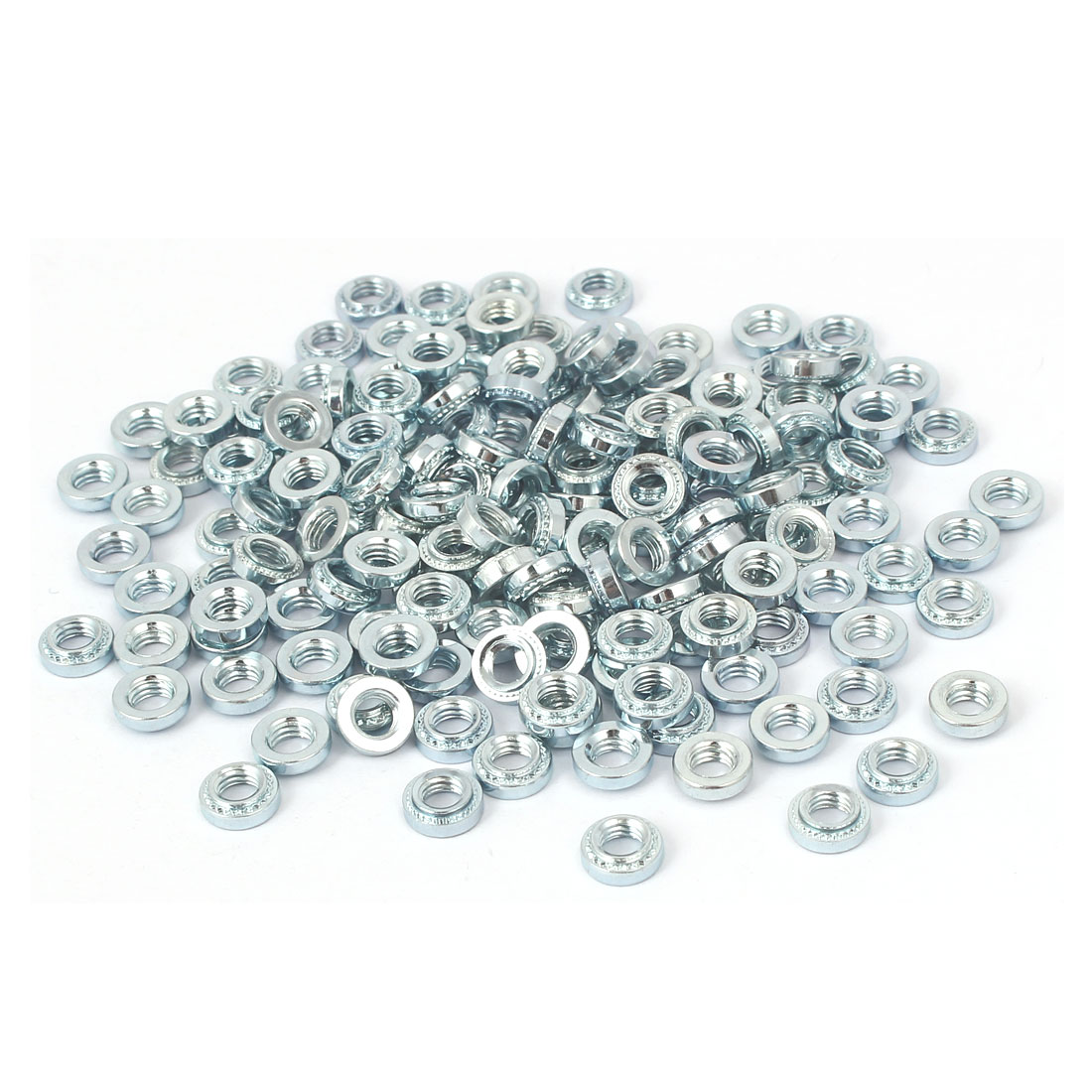 S-M5-1 Carbon Steel Self Clinching Rivet Nut Fastener 200pcs for 1.0mm Thin Plates