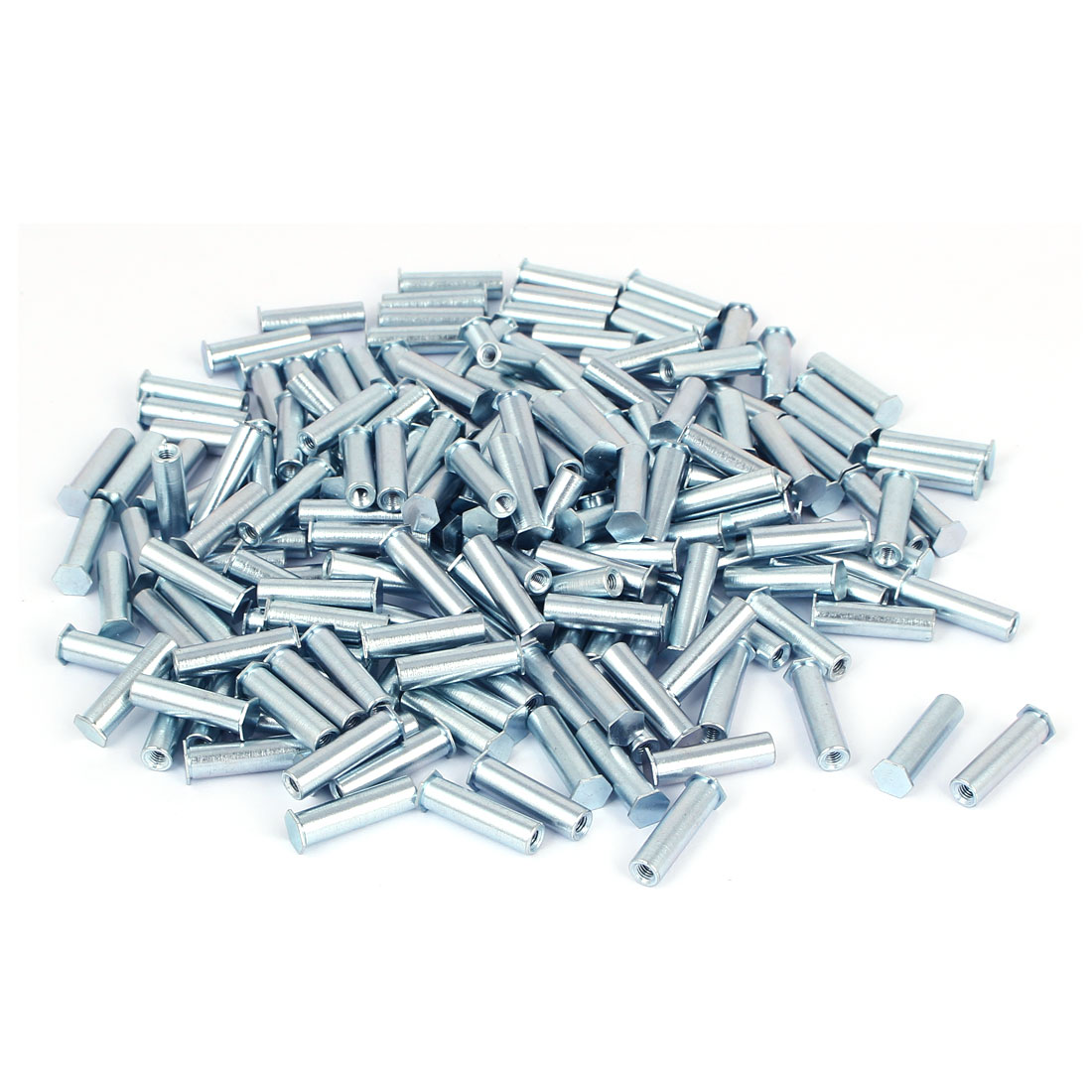 M3x20mm Blind Hole Zinc Plated Carbon Steel Self Clinching Standoff 200pcs