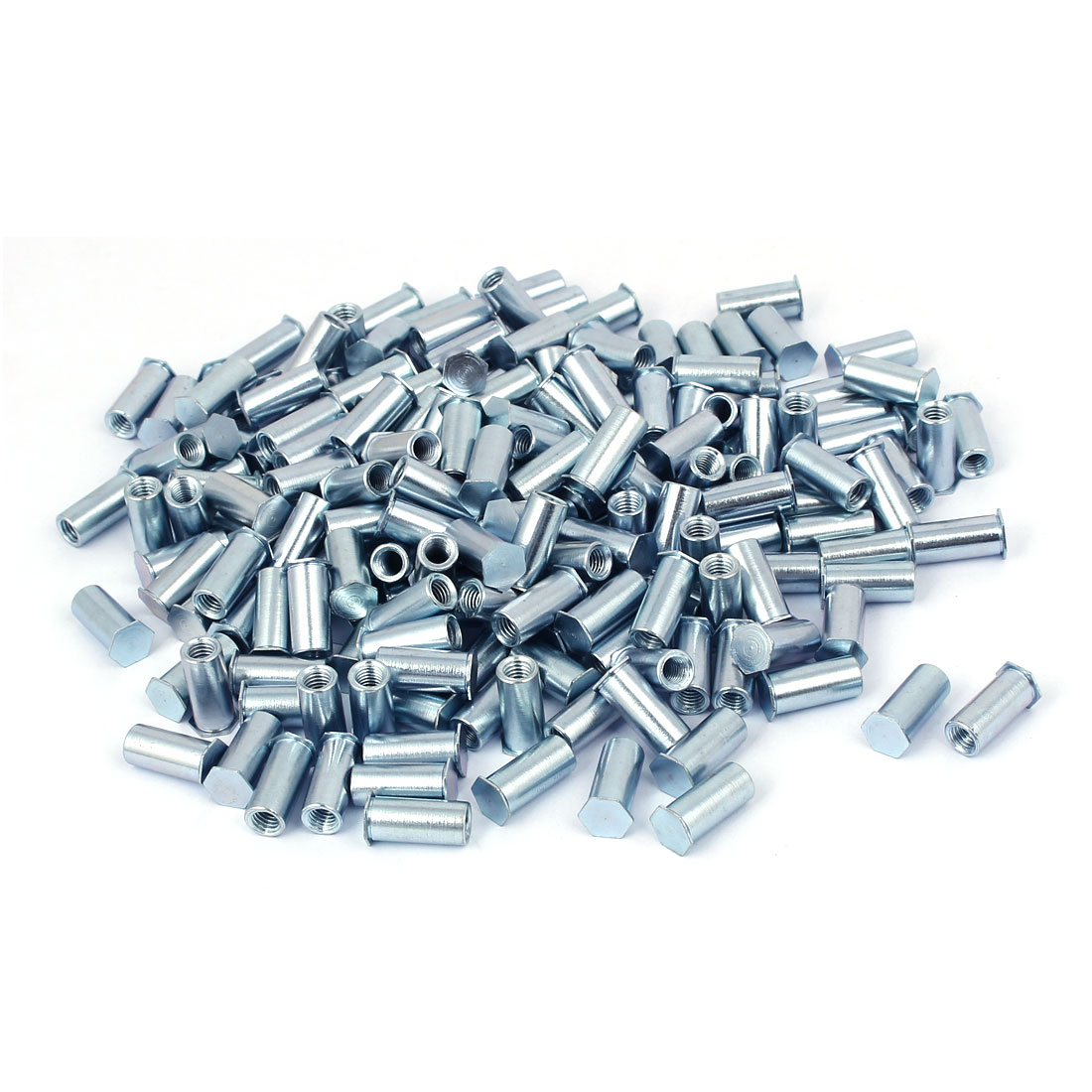 M5 x 18mm Full Thread Zinc Plated Blind Hole Self Clinching Standoffs 200 Pcs