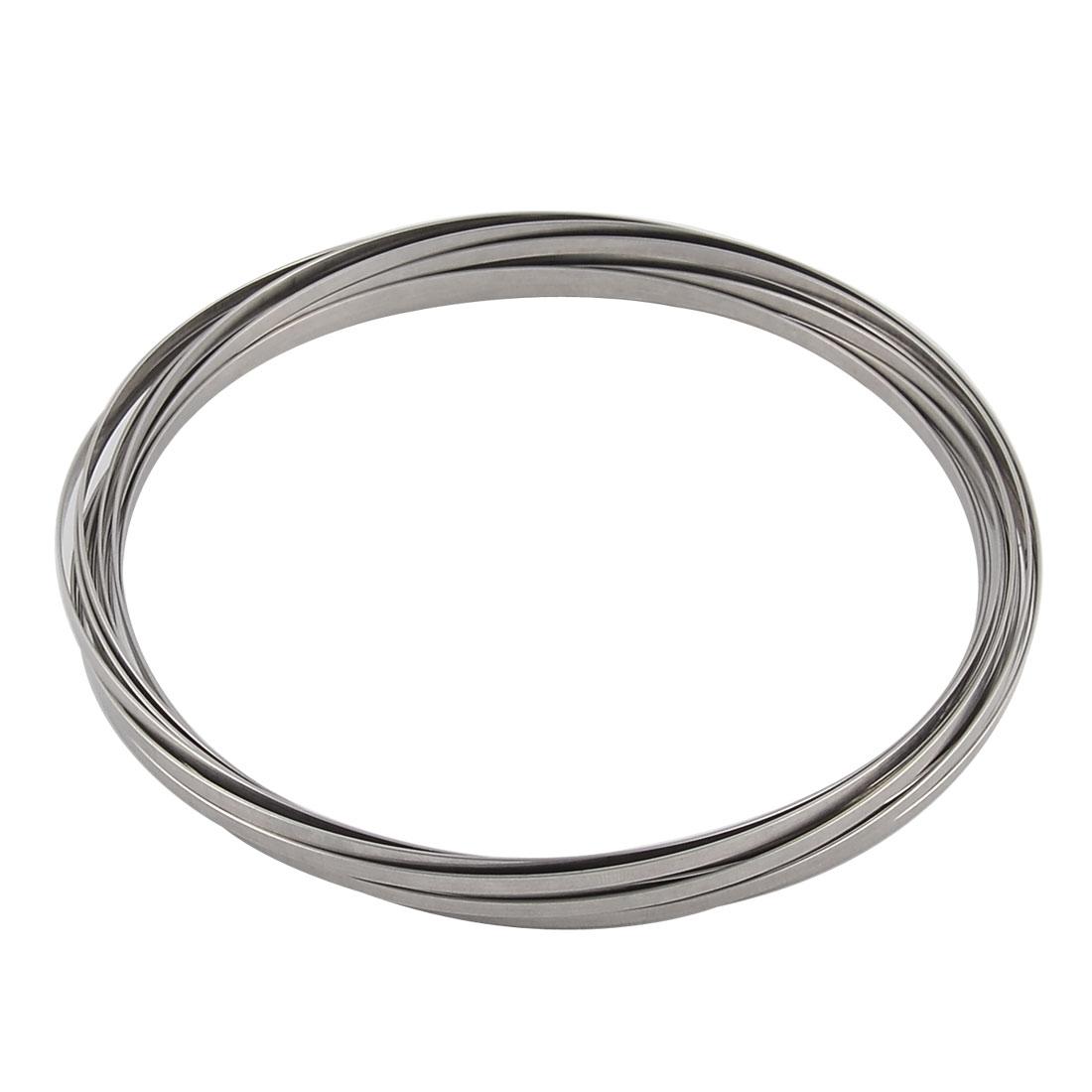 Metal Vertical Vortex Traveling Interactive Kinetic Spring Toy Flow Ring
