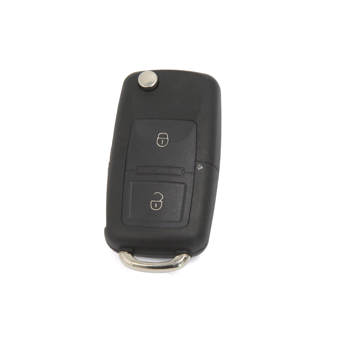 2 Button Uncut Blade Floding Flip Remote Key Case Shell Fob for VW Bora Golf MK4