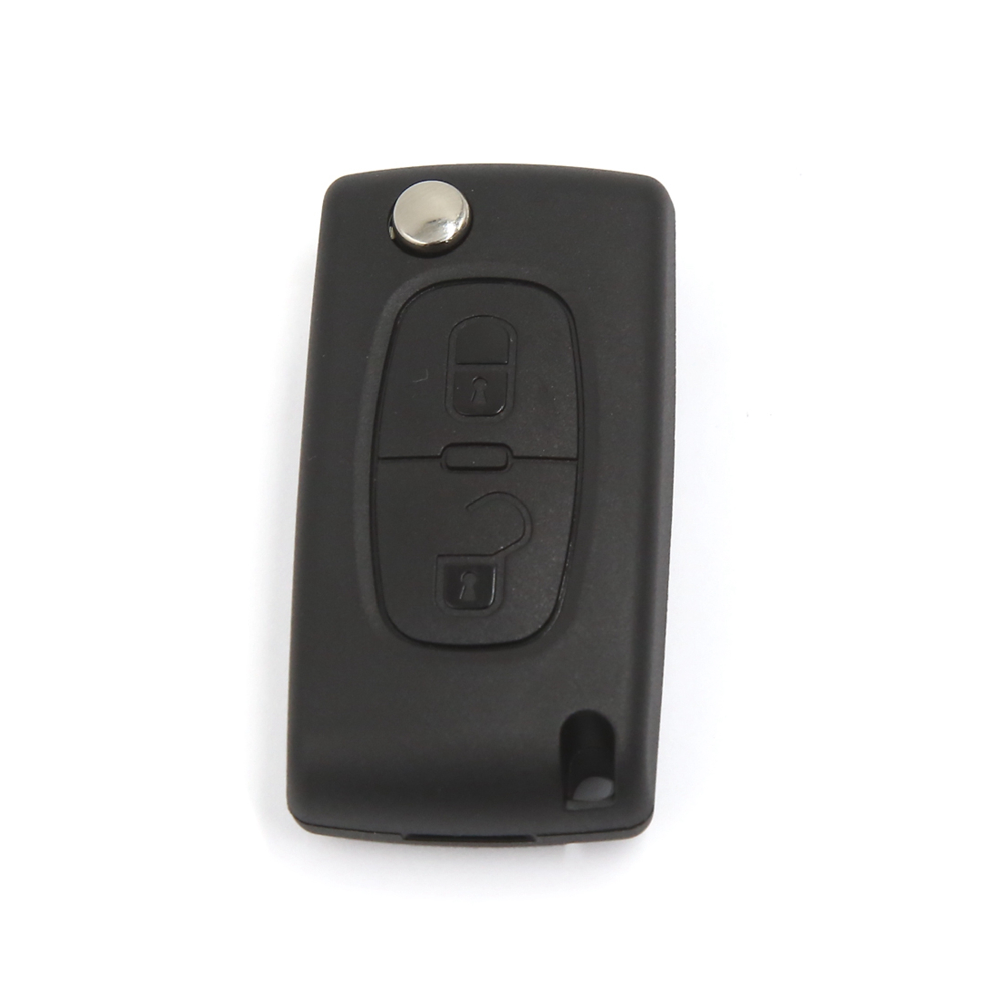 NEW Replacement 2 Buttons Fob Flip Remote Smart Key Case for Citreon C2 C3