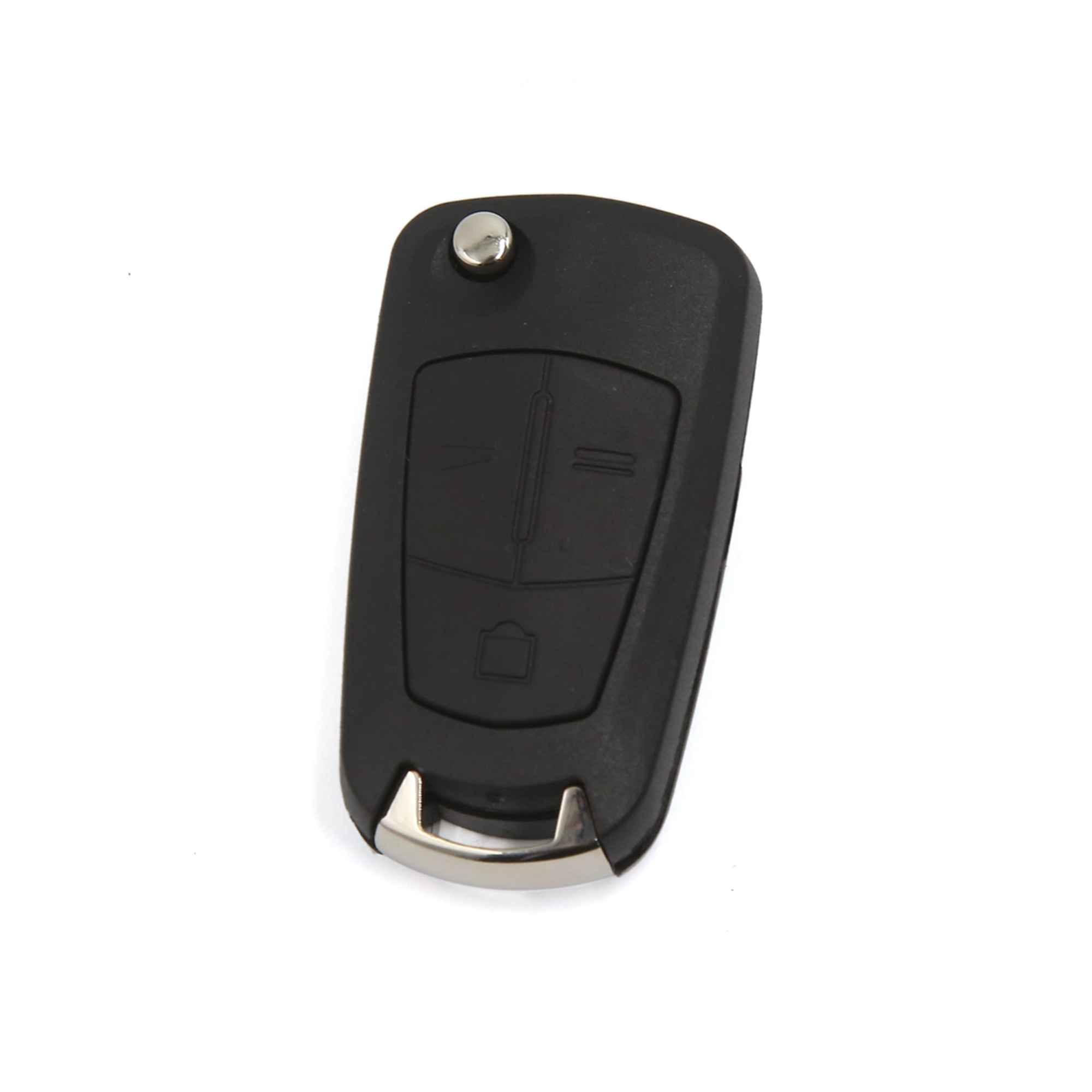 3 Buttons Flip Folding Smart Key Fob Remote Case for Vauxhall Opel Vectra Astra