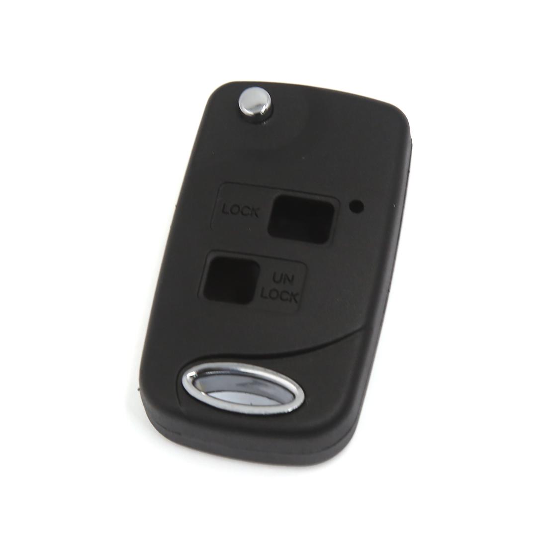 2 Button Smart Remote Flip Key Fob Case Fits Toyota Corolla Celica RAV4 Yaris
