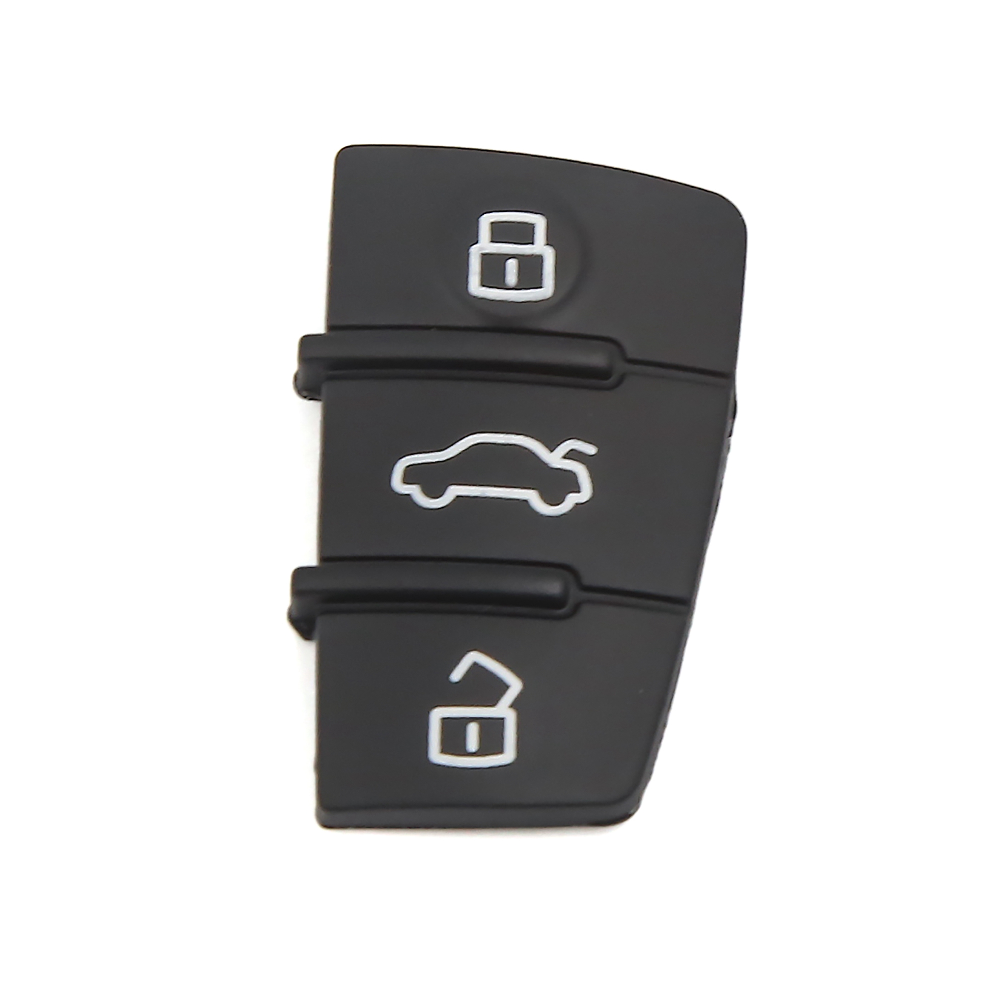 Car Key Remote Control 3 Button Rubber Pad Cover for Audi A3 A4 A6 Q5 Q7