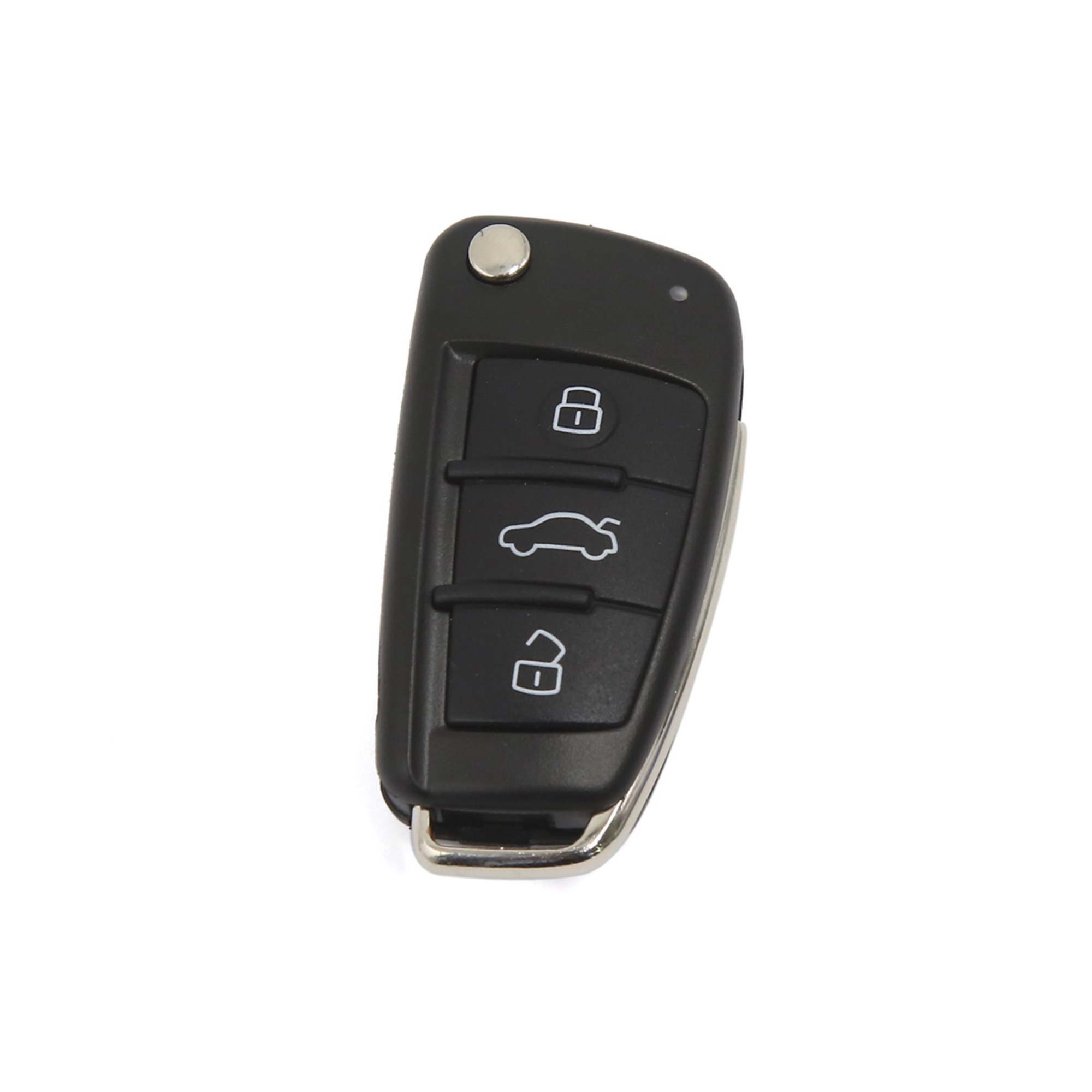 3 Buttons Replacement Remote Flip Key Fob Case Shell for Audi A3 A4 A6 Q7 TT