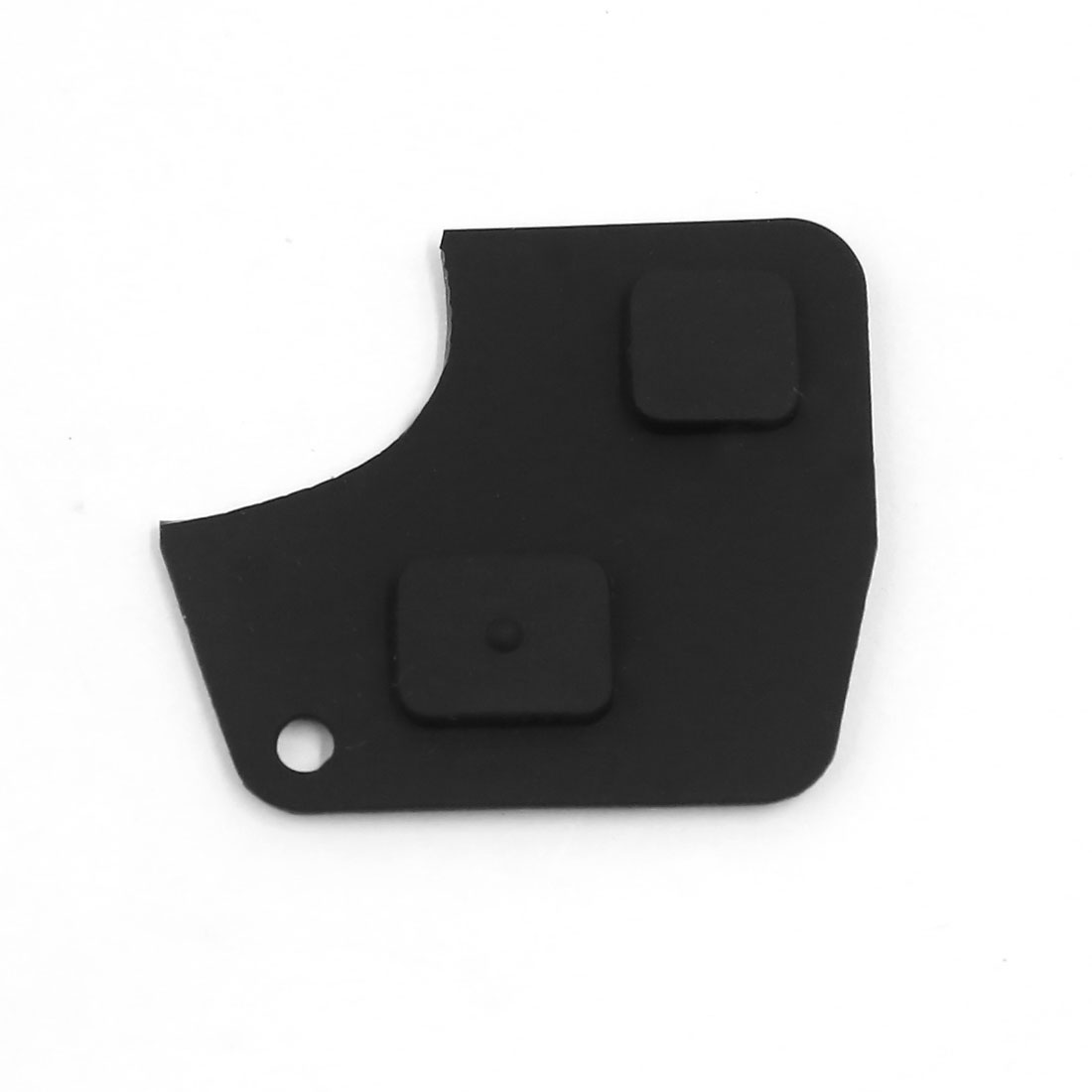 2 Button Smart Remote Key Case Shell Fob Rubber Replacement Pad for Toyota