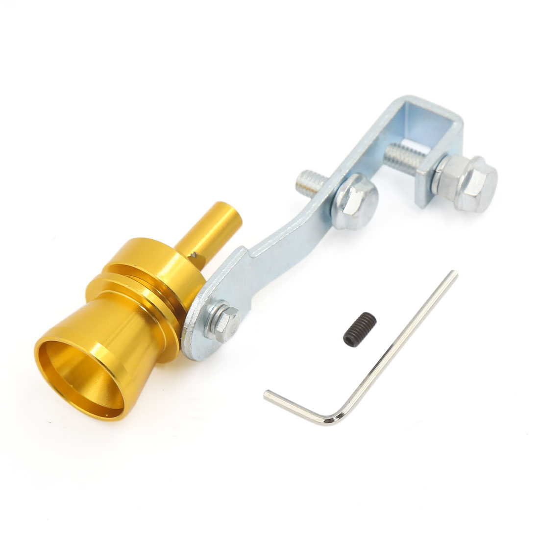 Golden Tone Turbo Sound Whistle Muffler Exhaust Pipe Simulator Whistler M