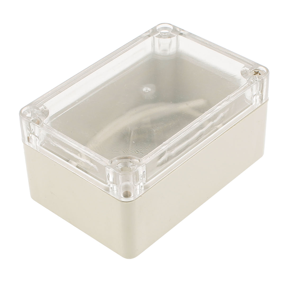 100x 68x 50mm Dustproof IP65 Junction Box DIY Terminal Connect Enclosure Clear Cover