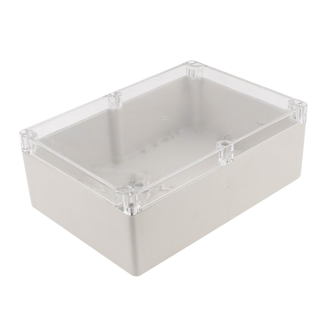 263 x 185 x 60mm Dustproof IP65 Junction Box Terminal Connecting Clear Enclosure