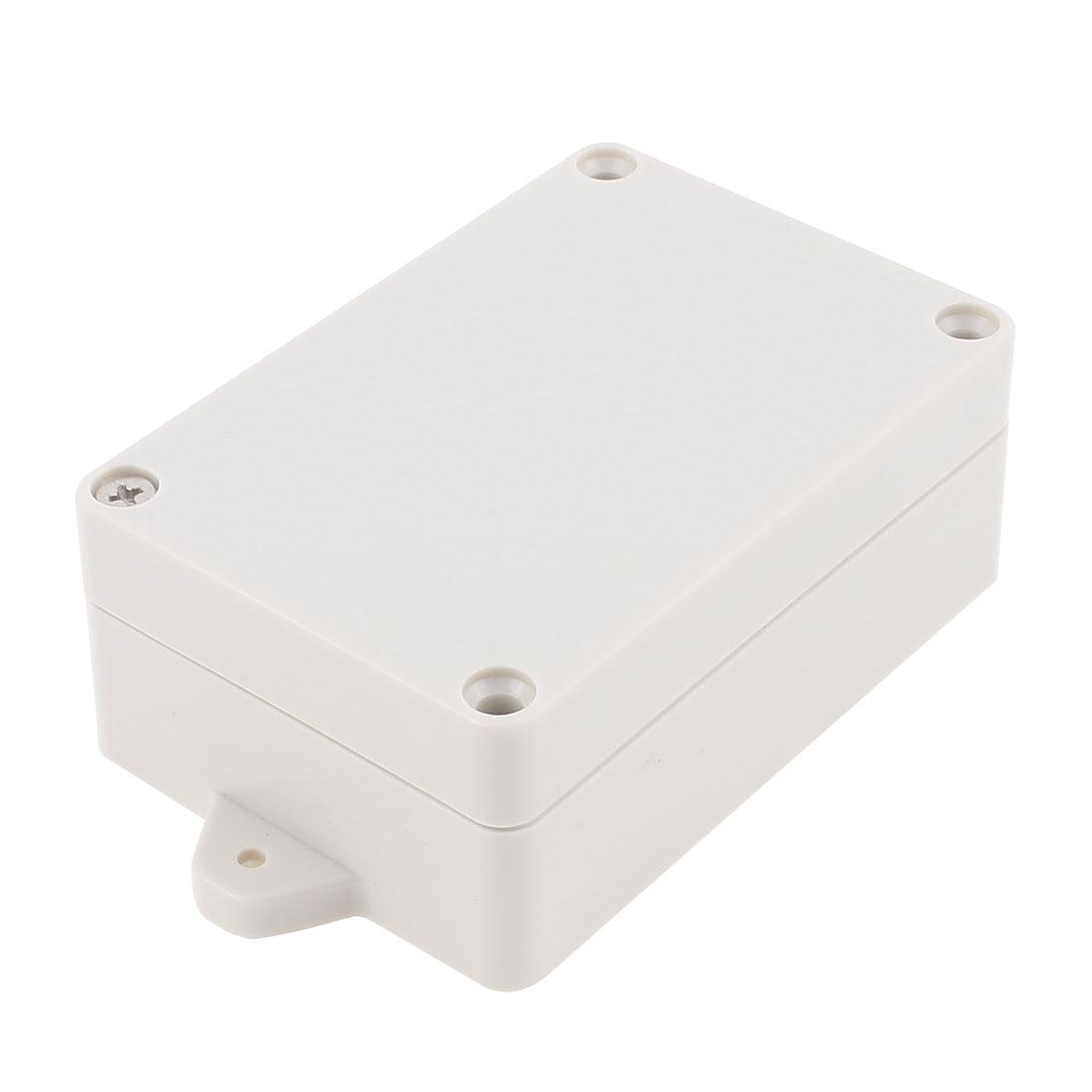 124mm x 68mm x 40mm Dustproof IP65 Junction Box Terminal Connect Enclosure