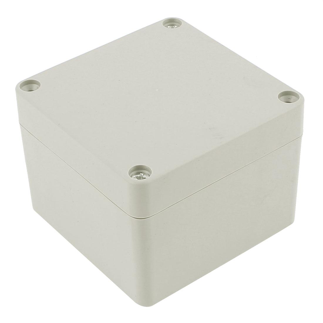 79 x 79 x 60mm Dustproof IP65 Junction Box Terminal Connecting Box Enclosure
