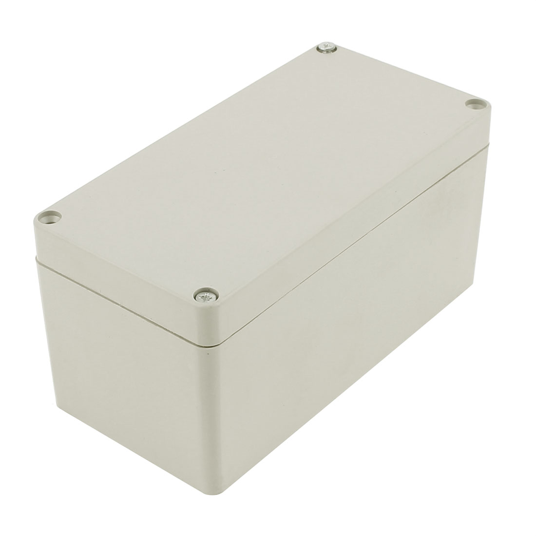 160 x 80 x 80mm Dustproof IP65 Junction Box Terminal Connecting Box Enclosure