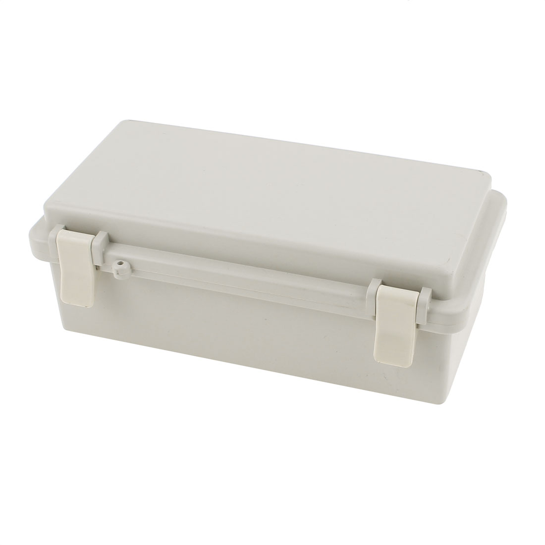 200 x 100 x 72mm Dustproof IP65 Junction Box Clamshell Sealed Instrument Shell