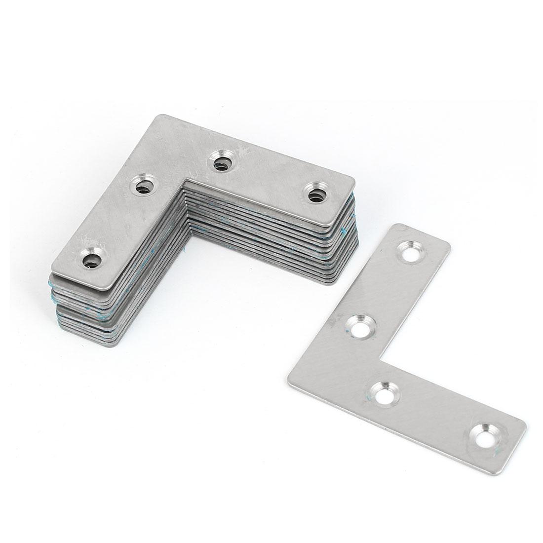 51mmx51mm 90 Degree L Shaped Stainless Steel Angle Bracket Corner Brace 15 Pcs