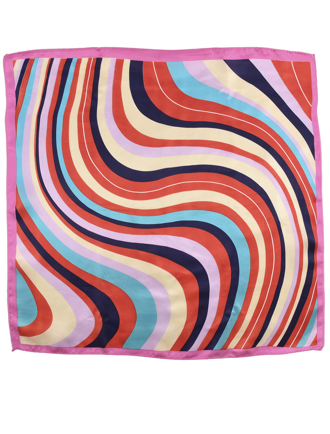 Stewardess Waitress Polyester Square Scarf Neckerchief Wrap Shawl 51cm x 51cm
