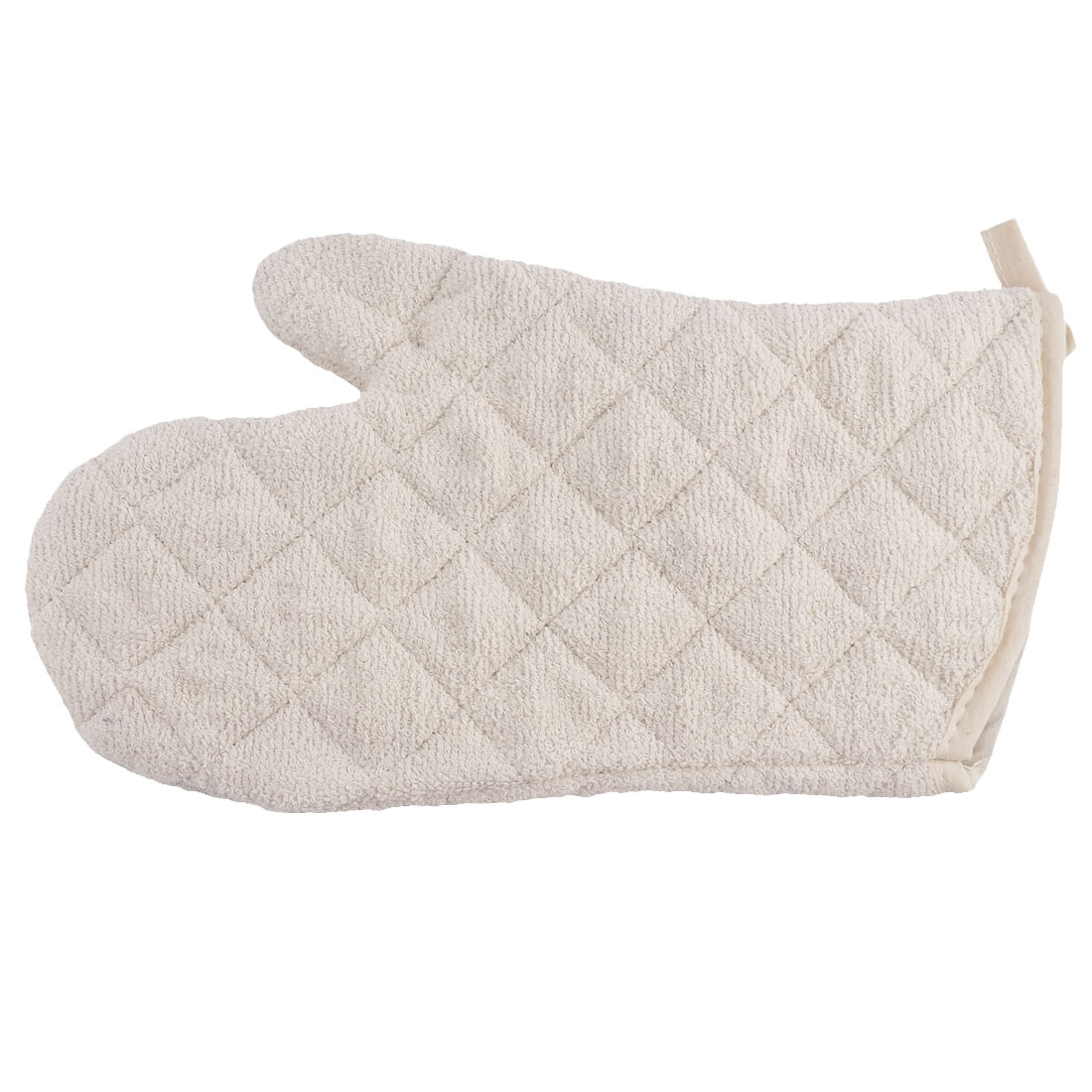 Kitchen Home Heat Hot Resistance Microwave Grilling Baking Oven Mitt Gloves Beige