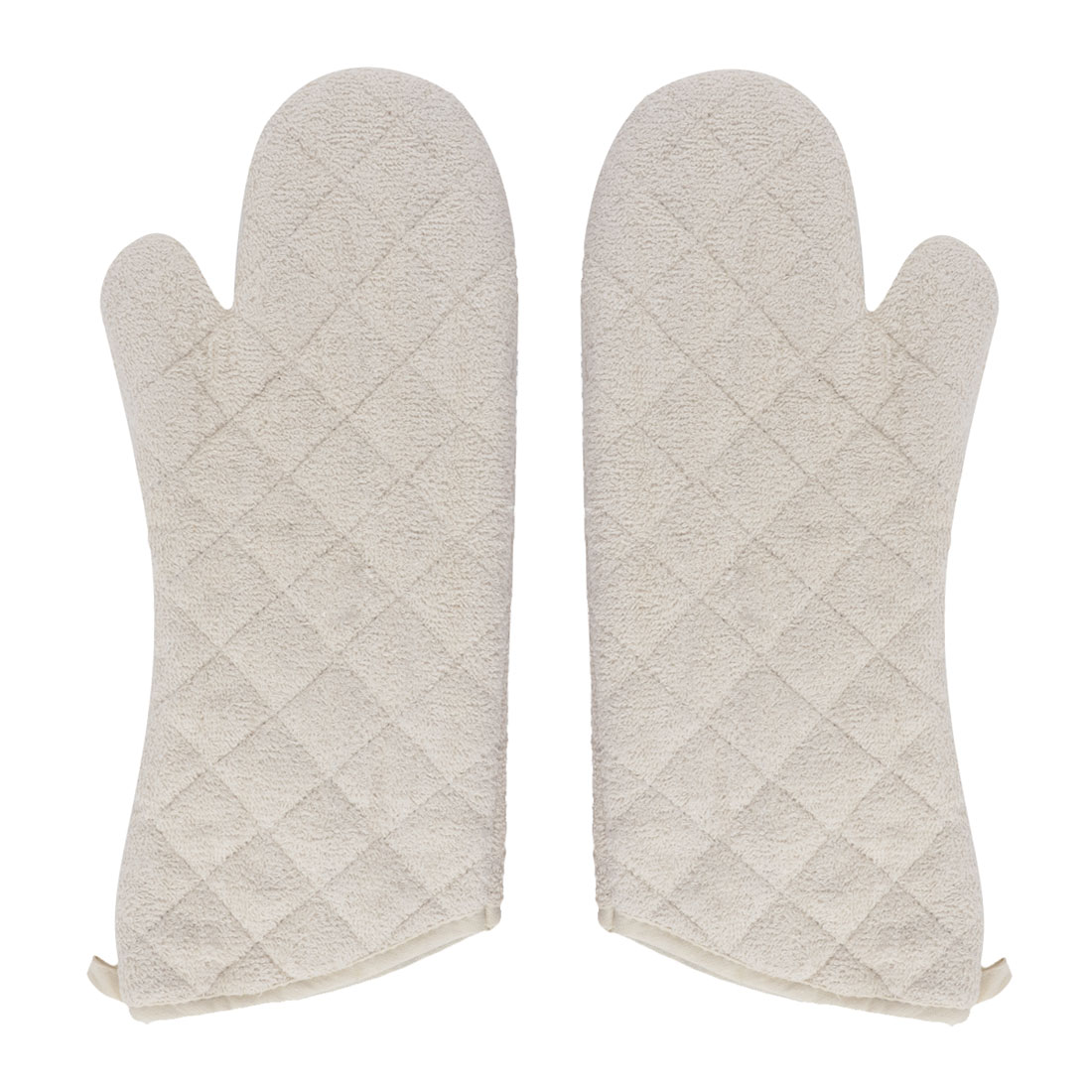 Kitchen Bakery Heat Hot Resistance Microwave Baking Oven Potholder Mitt Gloves Pair