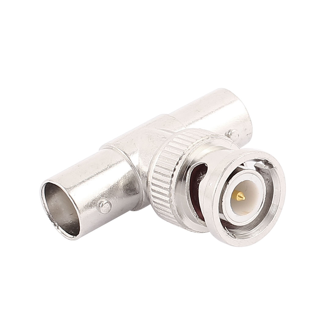 BNC Q9 3 Way T Connector 1 Male to 2 Female Video Adaptor For CCTV Camera