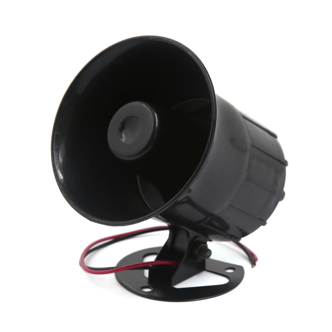 12V 30W Siren Air Horn Car Speaker Motorcycle Loud Electric Alarm 110db