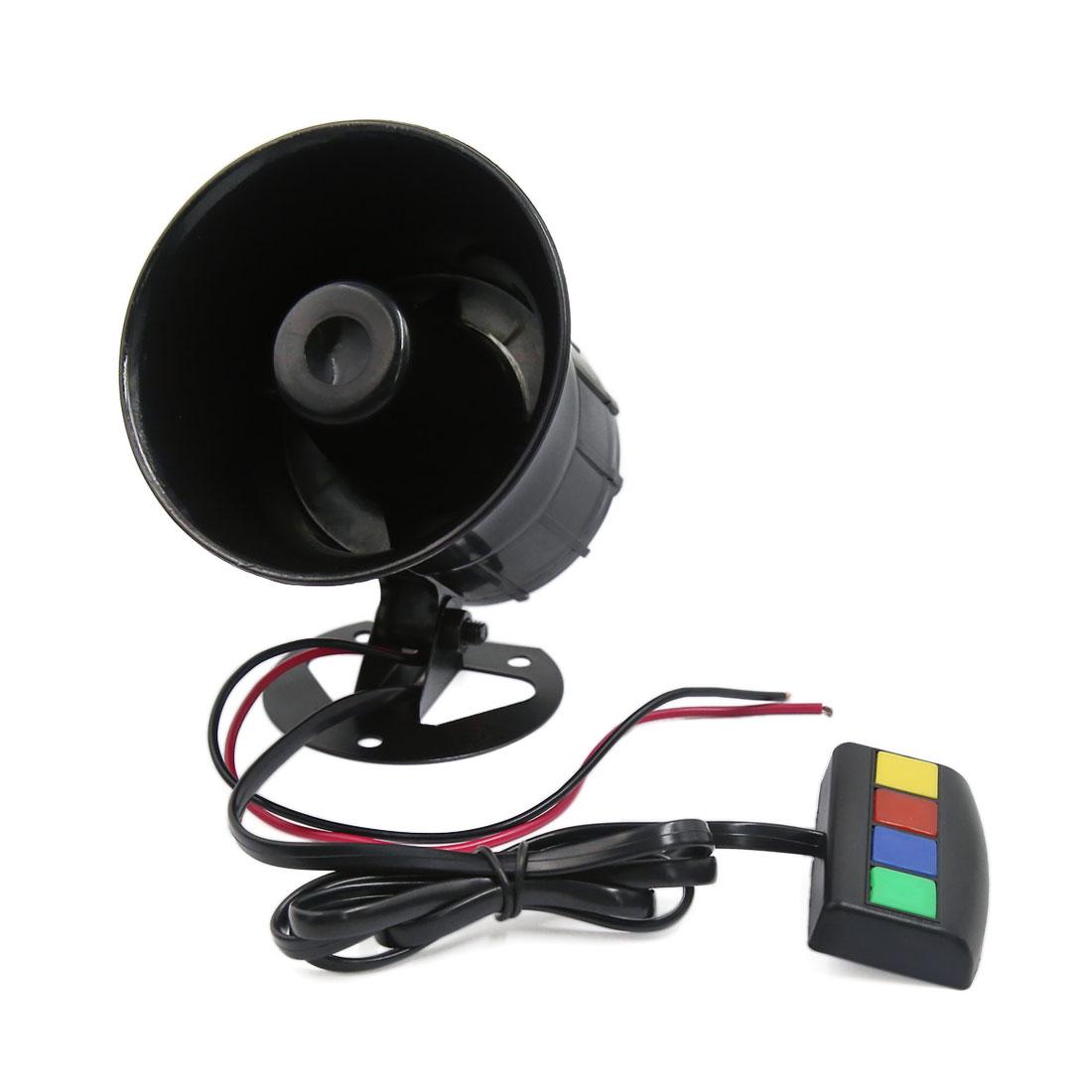 12V 30W 4 Sound 110db Tone Motorcycle Electric car Truck Siren Loud Horn Speaker