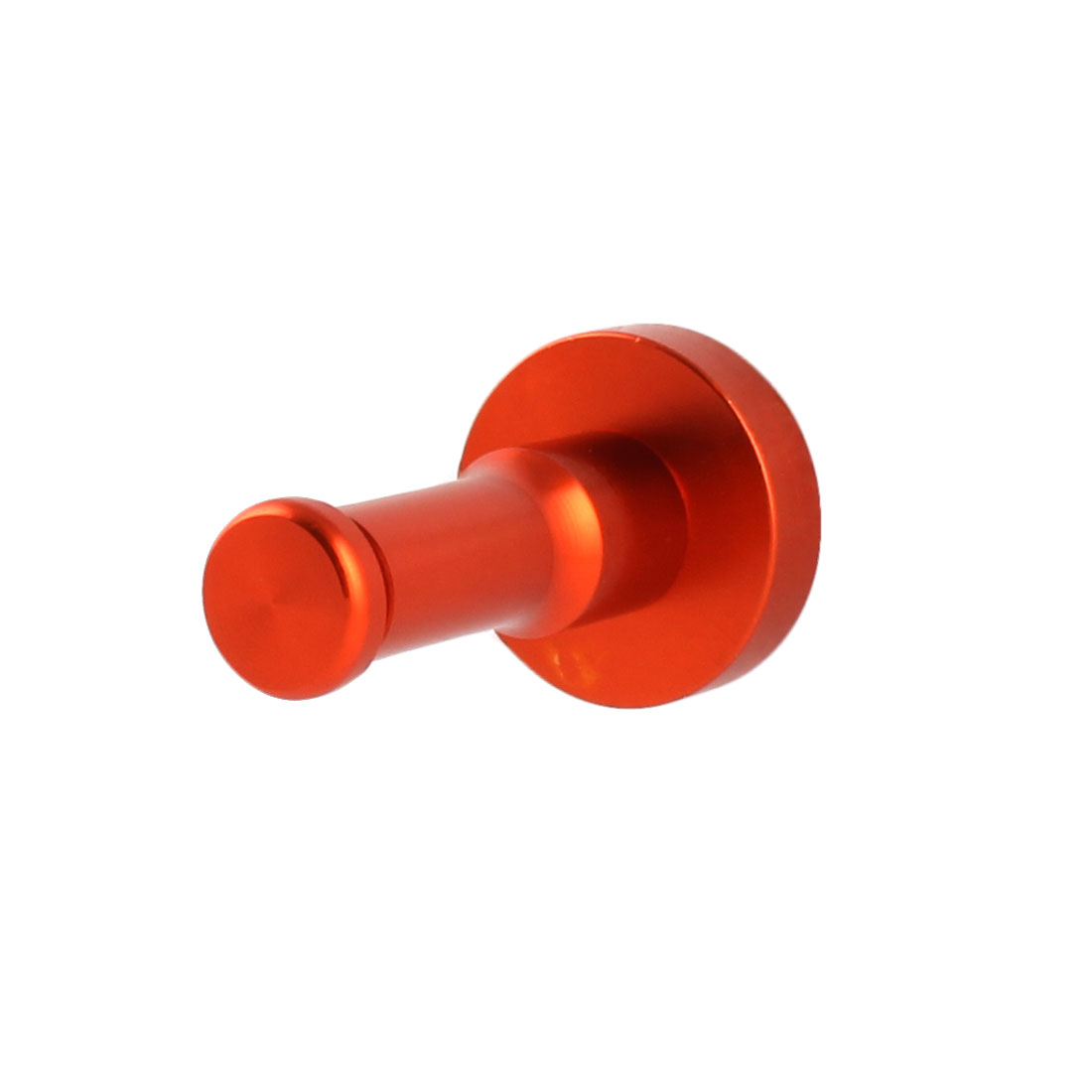 Home Bathroom Metal Wall Mount Coat Towel Hanging Single Hook Hanger Holder Orange