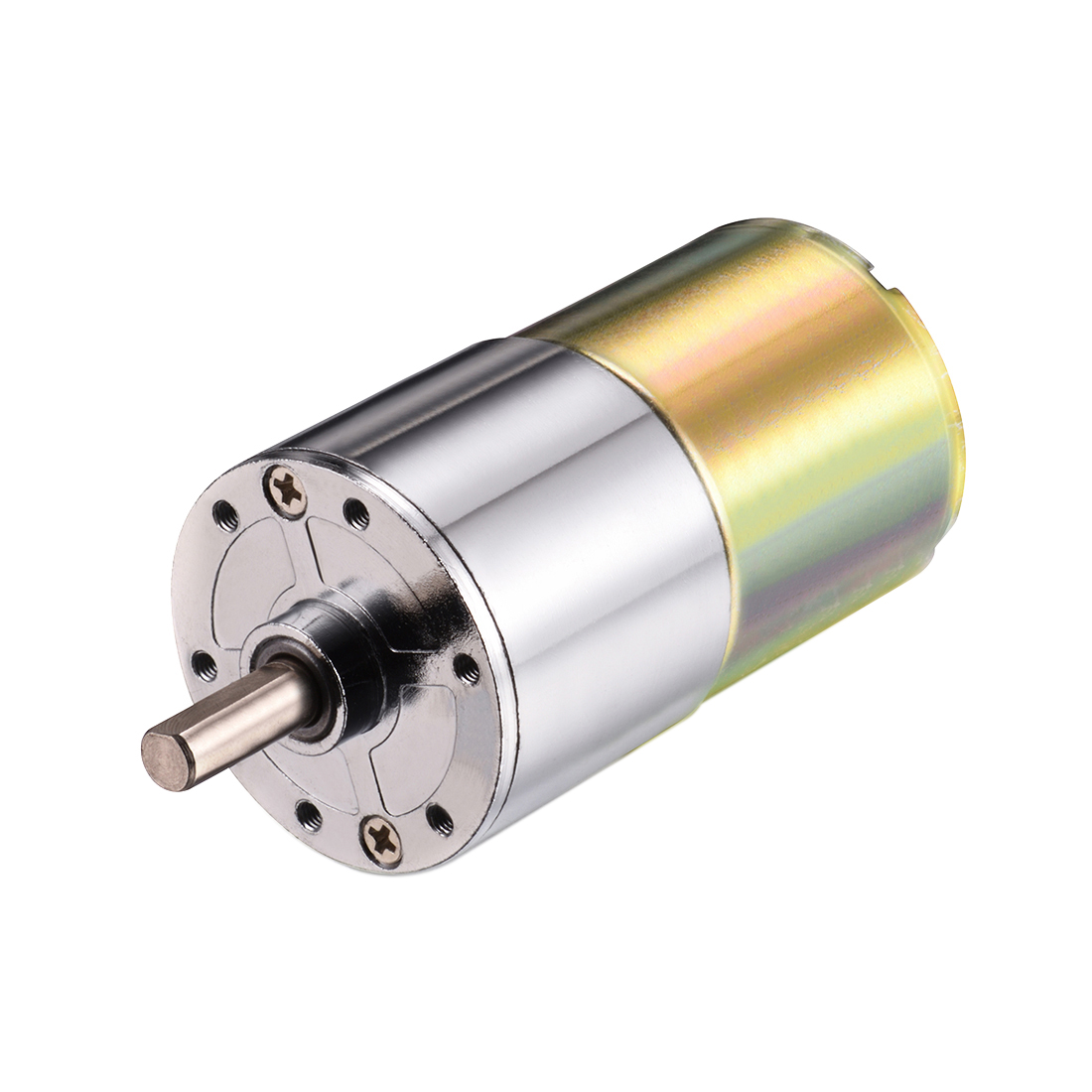 DC 24V 200RPM Micro Gear Box Motor Speed Reduction Electric Gearbox Centric Output Shaft