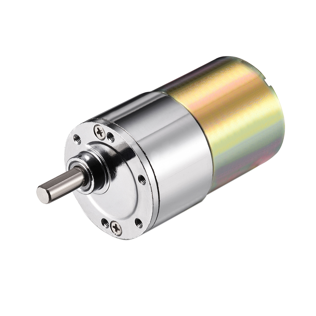 DC 12V 87RPM Micro Gear Box Motor Speed Reduction Electric Gearbox Eccentric Output Shaft