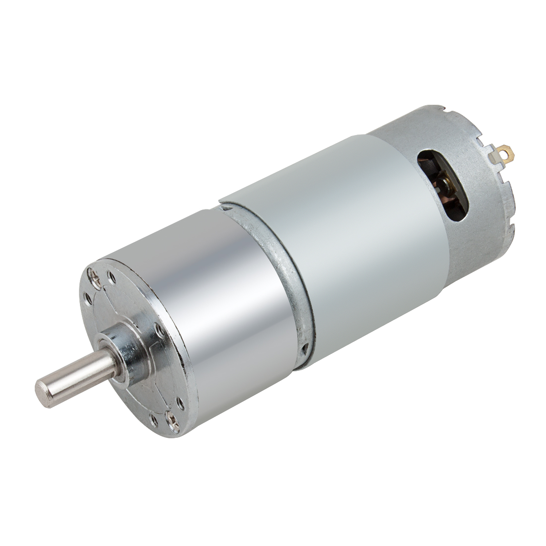 DC 12V 300RPM Gear Box Motor Speed Reduction Electrical Gearbox Centric Output Shaft