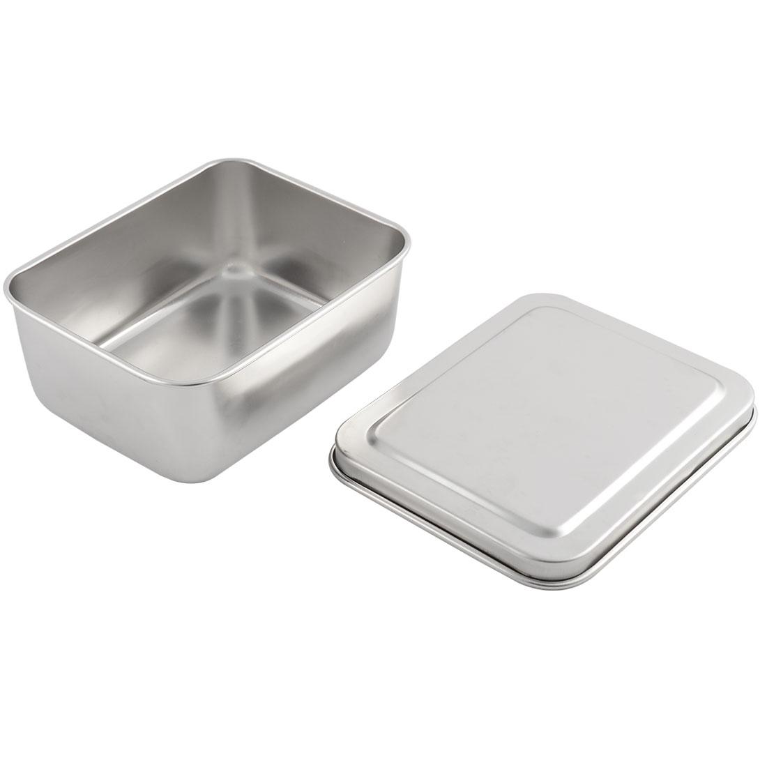 Kitchen Stainless Steel Salt Seasoning Condiment Storage Container Box Case Holder