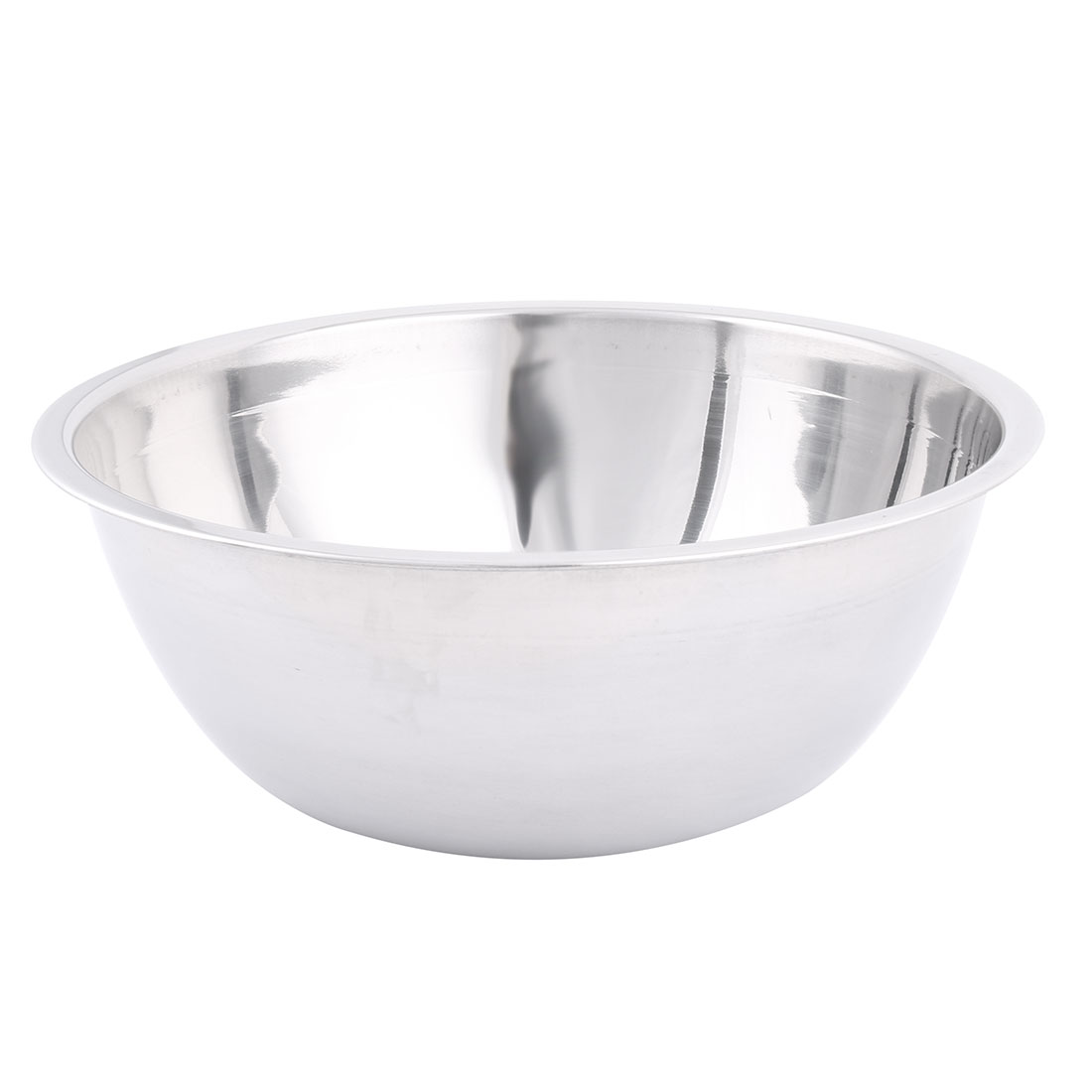 Kitchen Stainless Steel Food Vegetable Salad Noodle Mixing Bowl Container 27.5cm Diameter