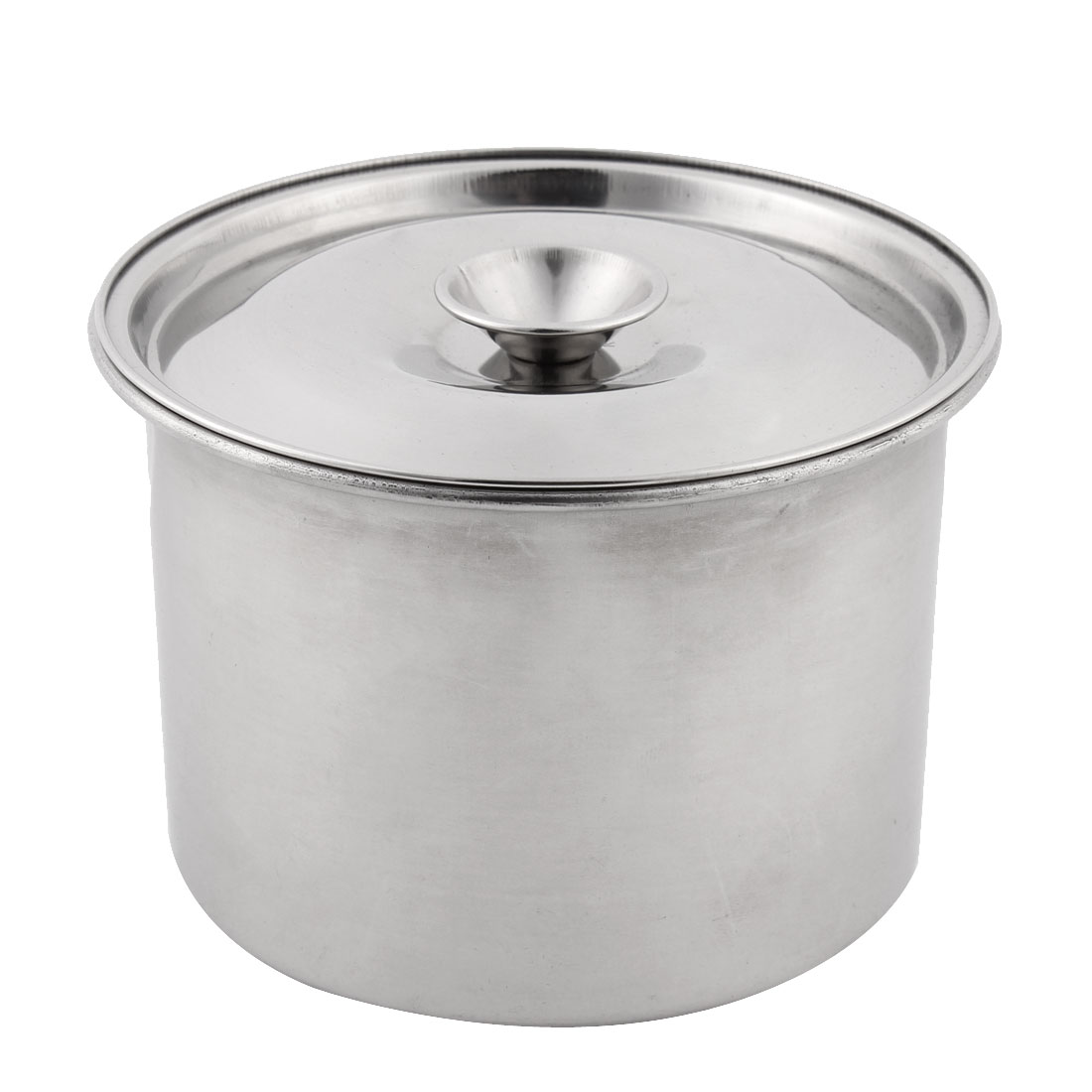 Family Kitchen Stainless Steel Food Egg Bowl Silver Tone 12cm Diameter