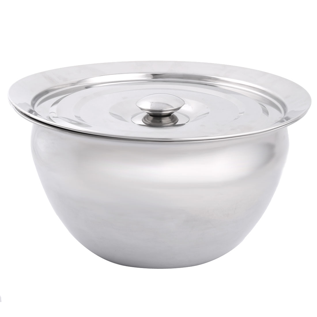 Stainless Steel Salt Sugar Serving Bowl Seasoning Container Condiment 29.5cm Dia