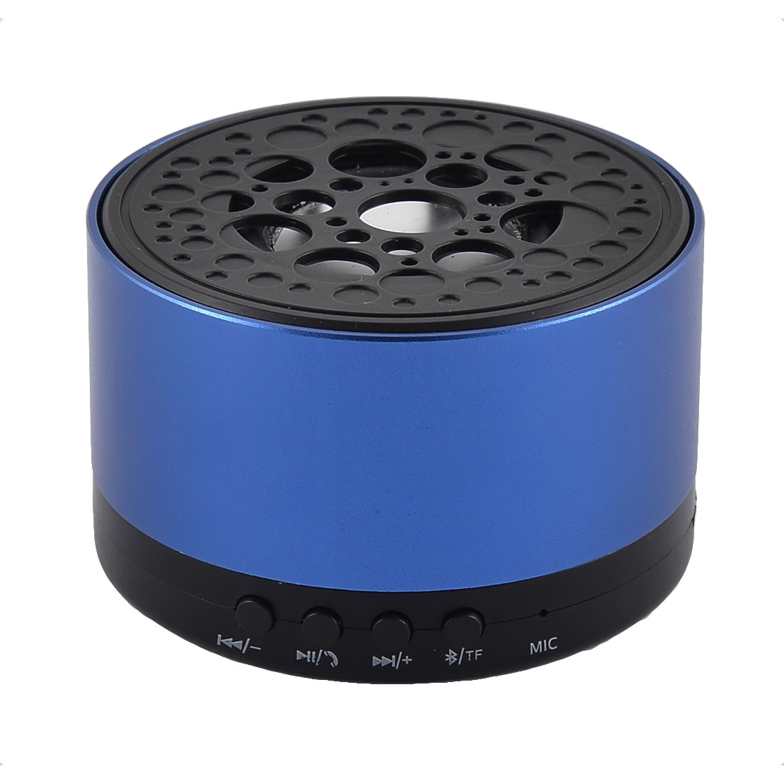 Portable Handsfree Water Resistant Dustproof Wireless bluetooth Speaker Loudspeaker Blue