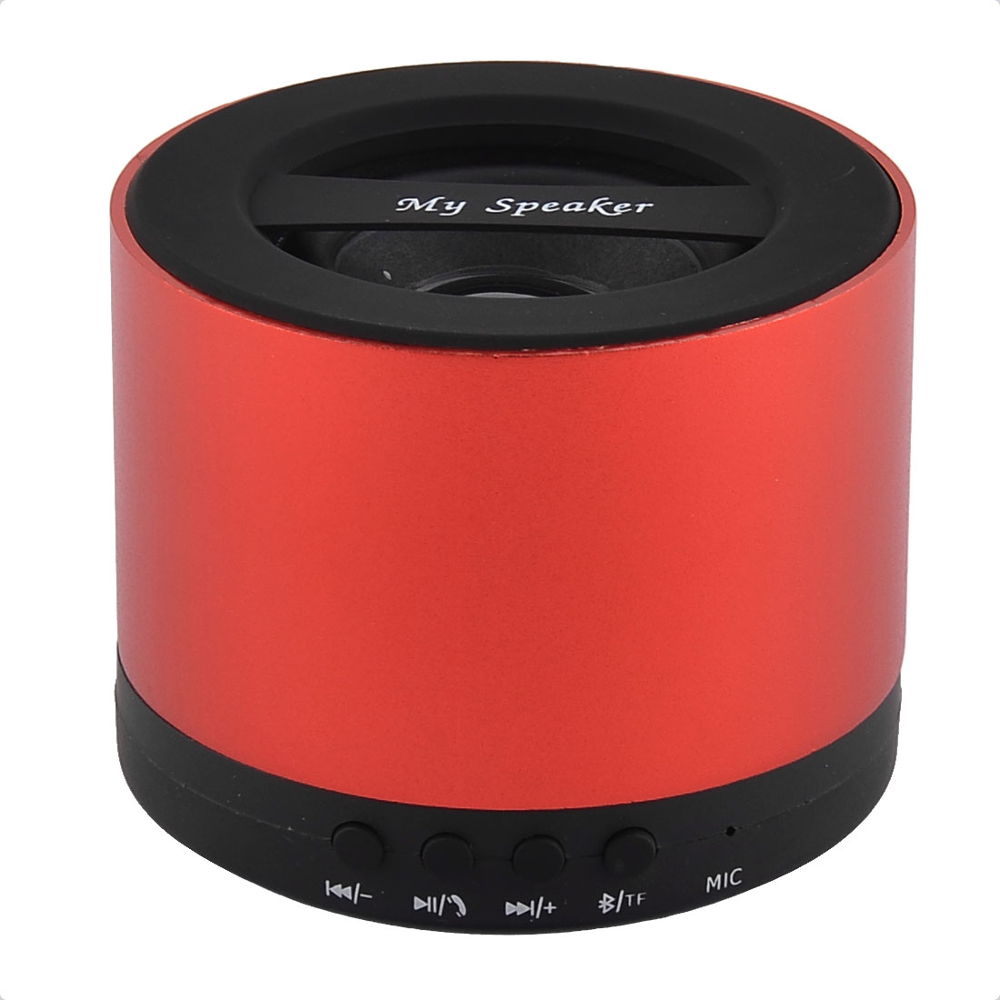 Portable Handsfree Rechargeable Wireless Streaming Audio bluetooth Speaker Red