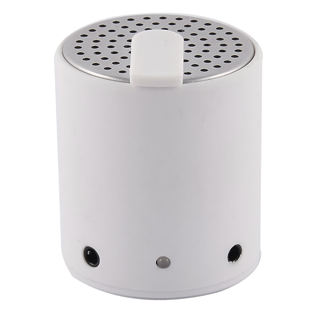 F001 Mini Wireless bluetooth Rechargeable Stereo Speaker White For Phone Desktops PC