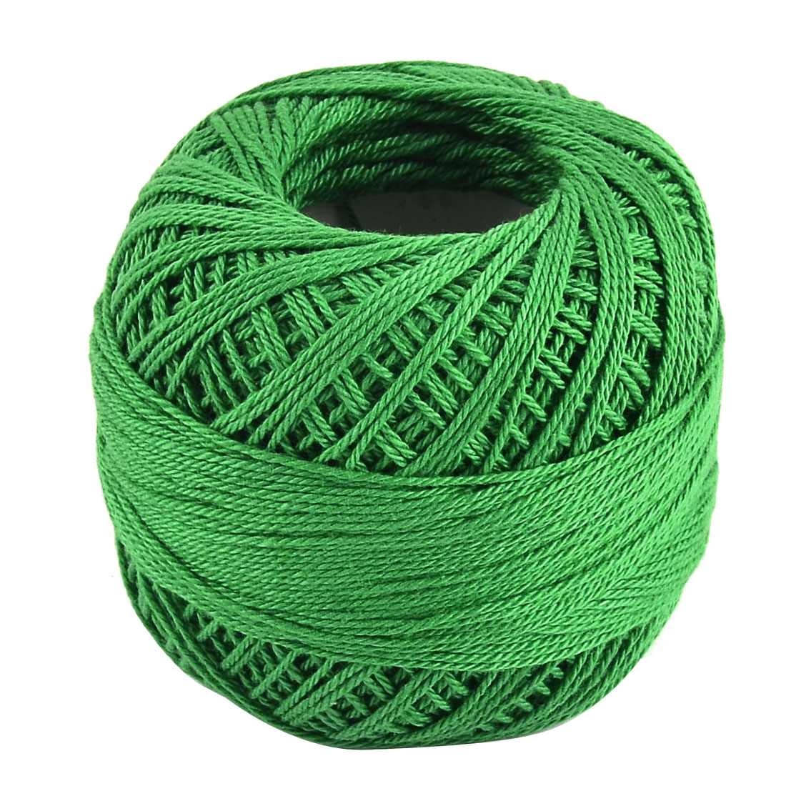 Cotton Handcraft Hand Knitting Weaving Glove Shawl Sweater Yarn Thread Green