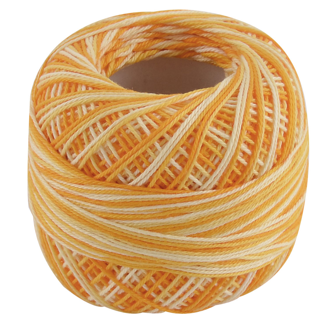 Cotton Handcraft Hand Knitting Weaving Muffler Cap Glove Yarn Thread Yellow