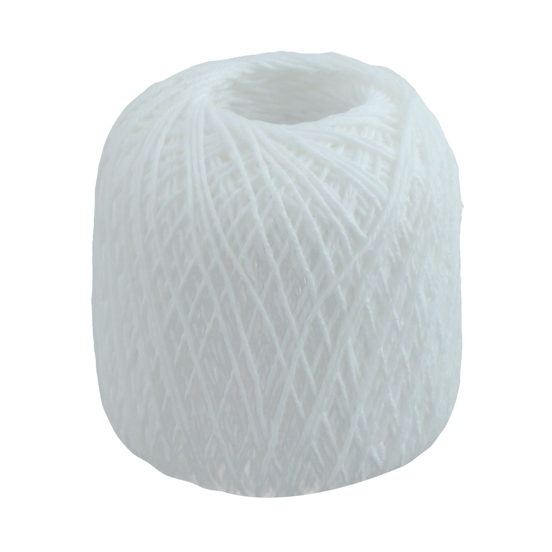 Cotton Hand Knitting Weaving Tatting Crochet Glove Sweater Yarn Thread White