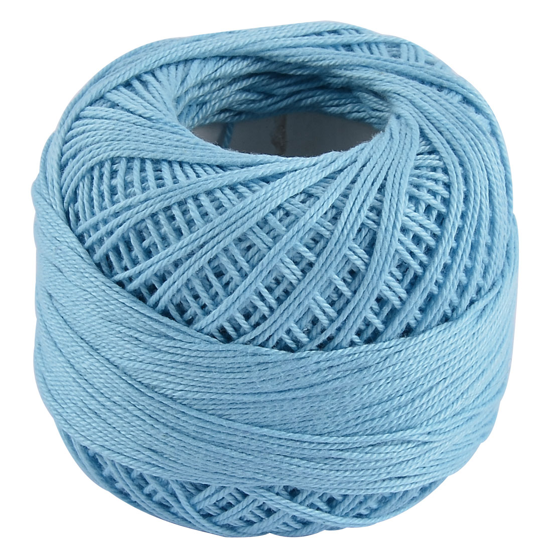 Cotton Hand Knitting Weaving Tatting Crochet Scarf Glove Cap Yarn Thread Cyan