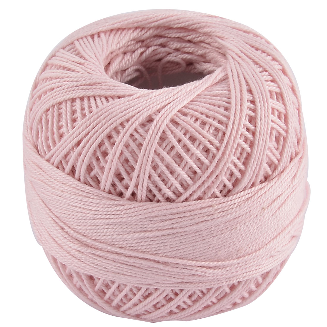 Cotton Tatting Crochet Weaving Glove Shawl Sweater Yarn Thread Light Pink