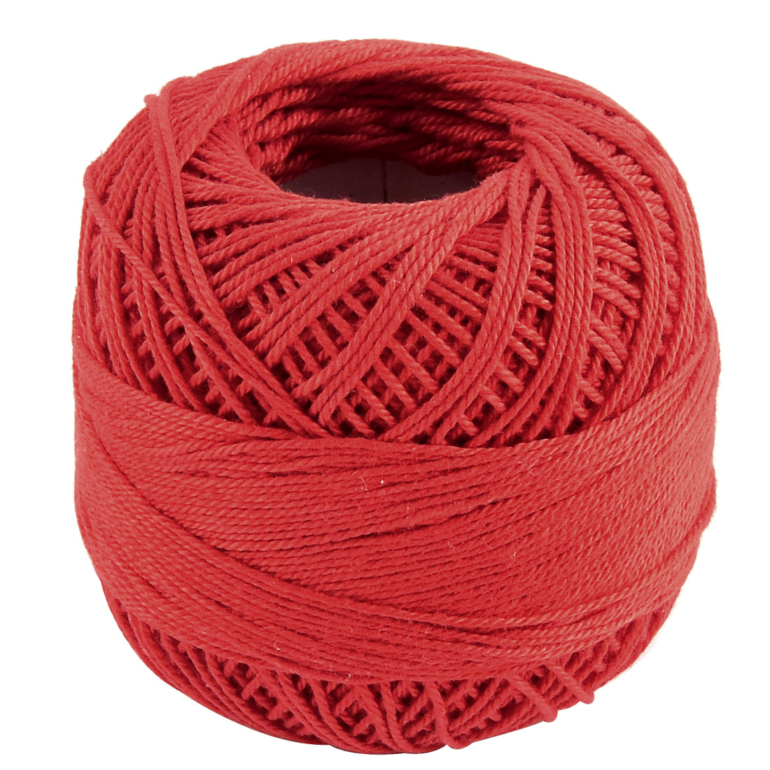 Cotton DIY Craft Handcraft Weaving Glove Shawl Muffler Yarn Thread Red