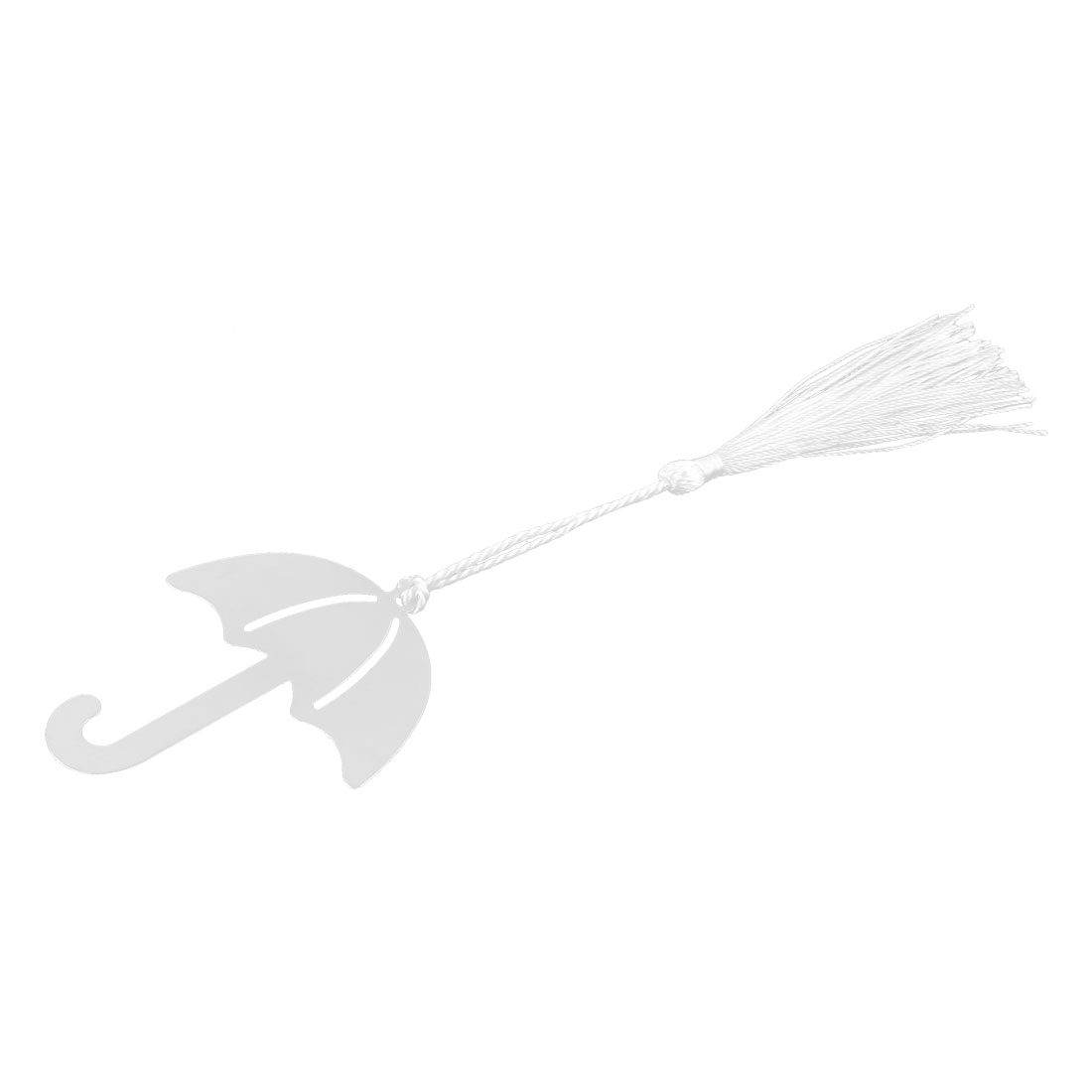 Household Office Metal Tassel Decor Umbrella Shaped Page Fashion Holder Bookmark
