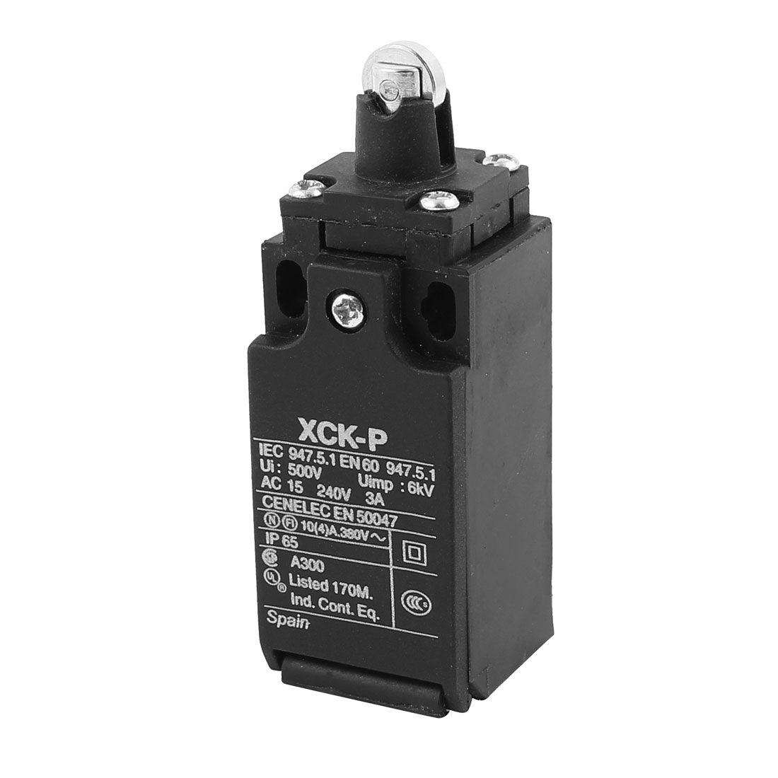 XCK-P Parallel Roller Plunger Actuator Limit Switch AC 240V 3A