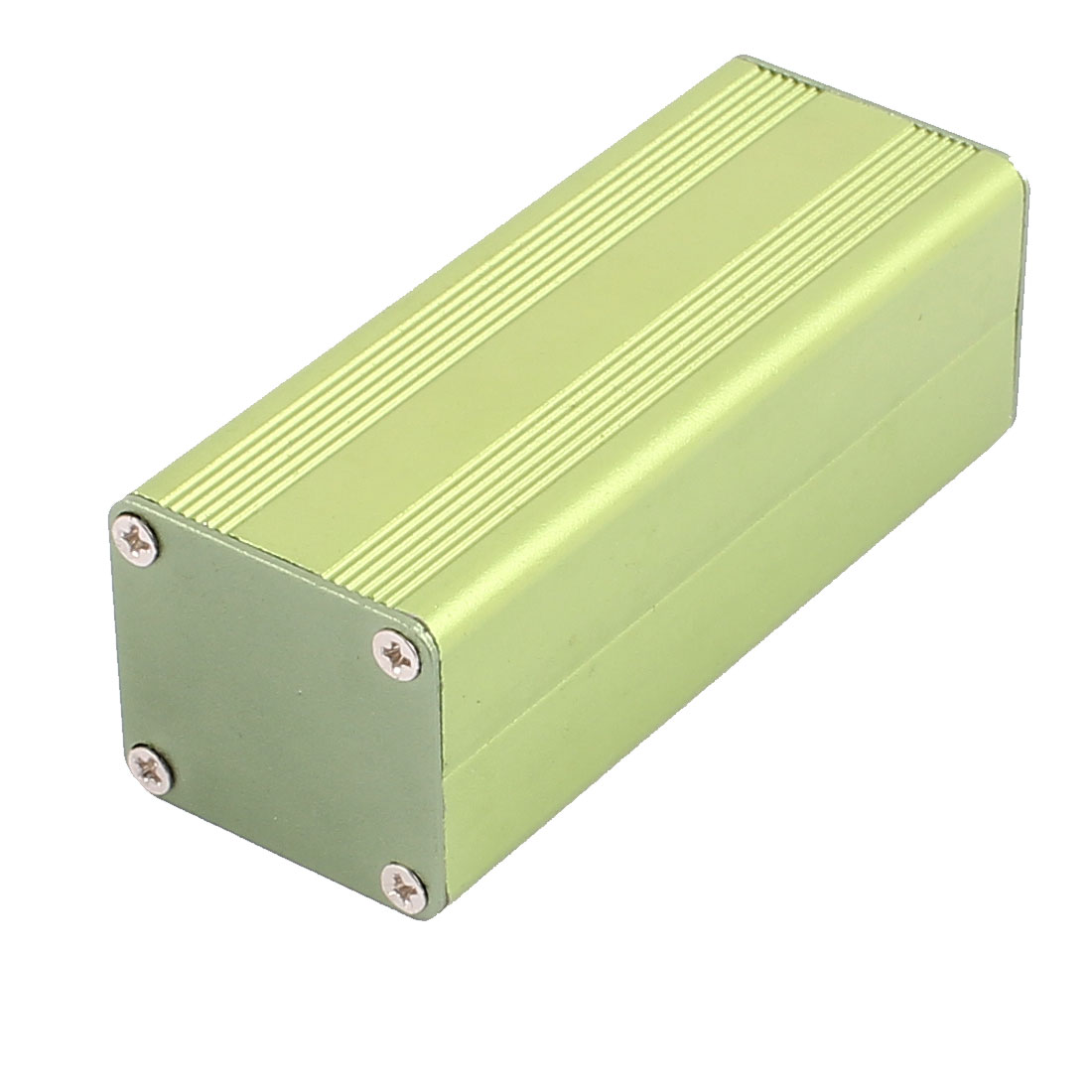83 x 32 x 29mm Multi-purpose Electronic Extruded Aluminum Enclosure Case Green